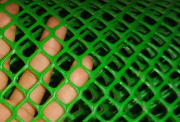 Extruded PVC Mesh with Square Holes