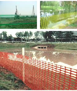 Temporary Safety Mesh Fencing of PVC Mesh Fabric